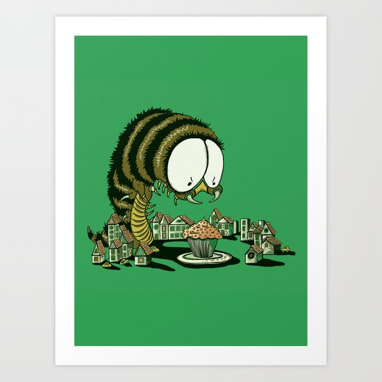 Huuungry! Art Print