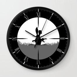 Cross Hair Wall Clock