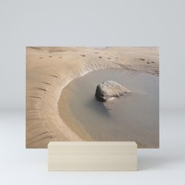 TIDAL POOL SANDYMOUTH BEACH CORNWALL Mini Art Print