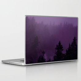 Purple Fog Laptop & iPad Skin