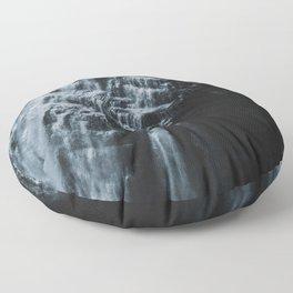 Middle Letchworth Falls Floor Pillow