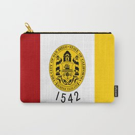 flag of San Diego Carry-All Pouch