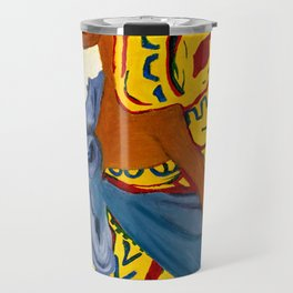 Mama Toto African Mother and Child - Sher Nasser Artist Travel Mug