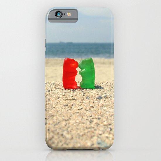 Gummy Bear Beach Kiss iPhone & iPod Case