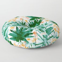 LEAF IT BE Tropical Palms Floor Pillow
