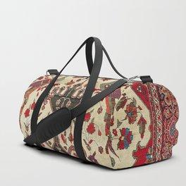 Farahan Arak Antique Persian Rug Duffle Bag