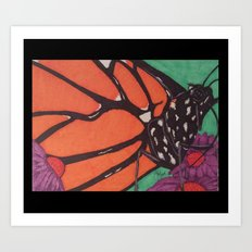 Monarch... Art Print