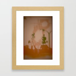 Hi RoBoT, Hello Framed Art Print