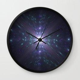 Looking at the Universe Through a Diamond Wall Clock