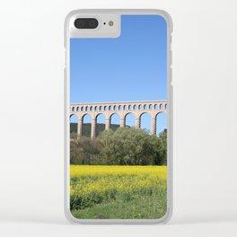 Aqueduct Roquefavour Clear iPhone Case