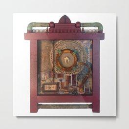 St Badger Reliquary  Metal Print