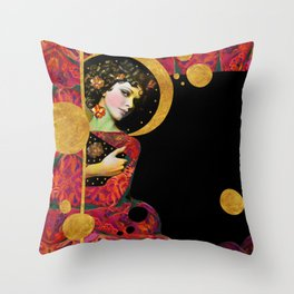 """Modern Pop Dream"" Throw Pillow"