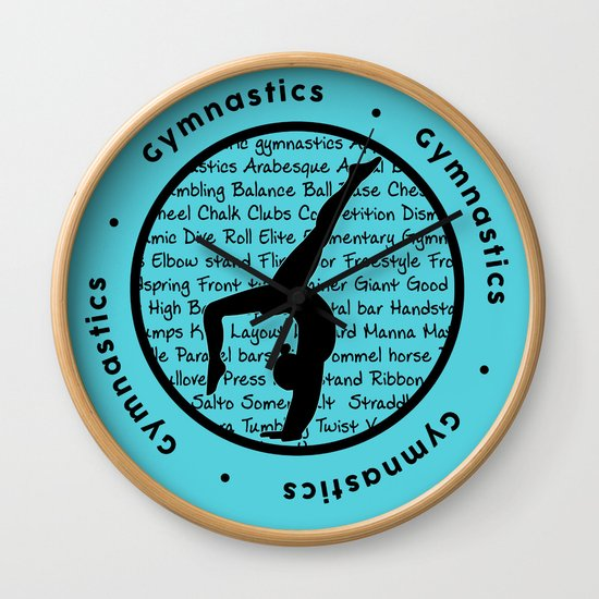 Gymnastic Circle blue by laoof