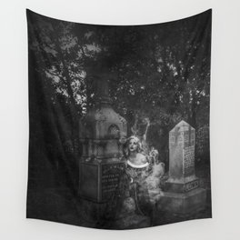 The Beautiful Ghost Wall Tapestry