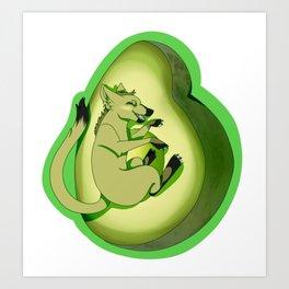 Avocado love! Art Print