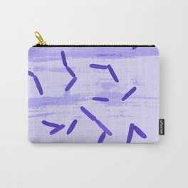 Bacteria-inspired illustration Carry-All Pouch