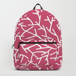 Branches - pink Backpack