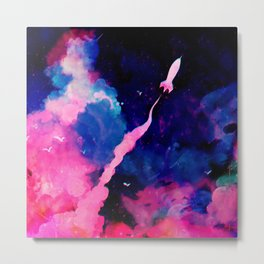 Fly High Metal Print