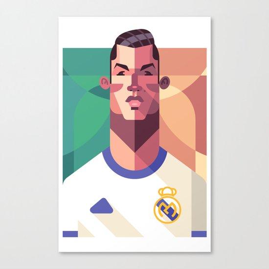 CR7 | Los Merengues Canvas Print