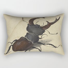 Stag Beetle - Albrecht Durer Rectangular Pillow