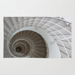 the spiral (architecture) Rug