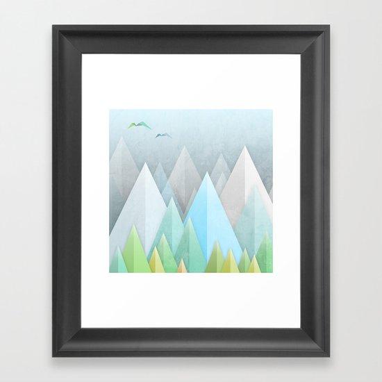 Graphic 55 Framed Art Print