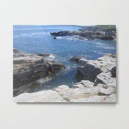 Carving Ocean Metal Print