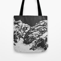 rocky Tote Bags featuring Rocky by Deep | Love | Photography