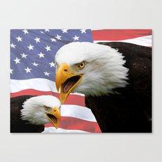 American tribute Canvas Print