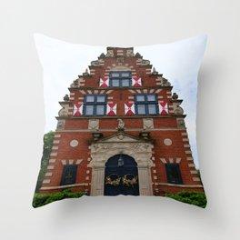Zwaanendael Museum Throw Pillow