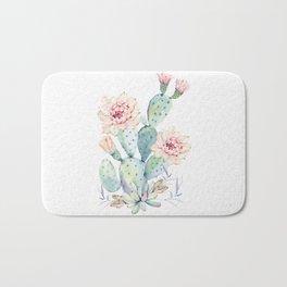 Prettiest Cactus Rose by Nature Magick Bath Mat