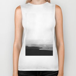 ICELAND / oceano nero Biker Tank