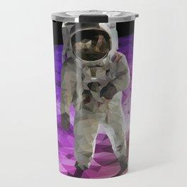 Astronaut Low Poly Travel Mug
