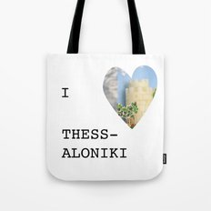 I love Thessaloniki Tote Bag