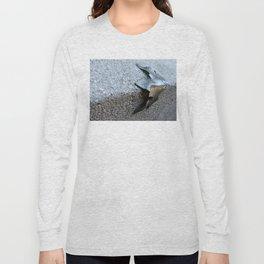 Metal Leaf Long Sleeve T-shirt