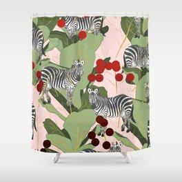 Zebra Harem #society6 #decor #buyart Shower Curtain