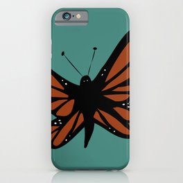Monarch in Flight iPhone Case