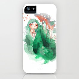 I AM A WET FOREST iPhone Case