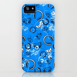 Gamers-Blue iPhone Case