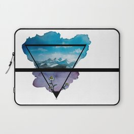 Flowers and Mountains Laptop Sleeve