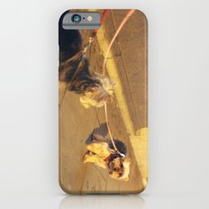 Cute Yorkshire lovers Slim Case iPhone 6s