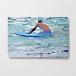 Surfing Life Style Metal Print