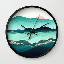 Summer Hills Wall Clock