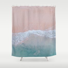 Pink Sands Shower Curtain