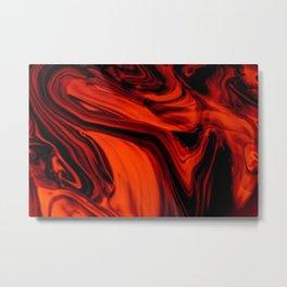 Solar Smoke Metal Print