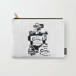 No5 (Black) Pop Art Illustration Carry-All Pouch