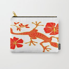 Tribal Lizard Design #1 Carry-All Pouch