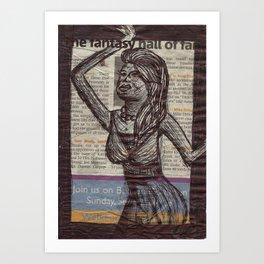 The Fantasy Art Print