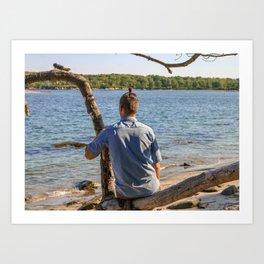 Island Relaxation Art Print