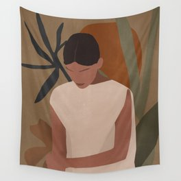 Tropical Girl 7 Wall Tapestry